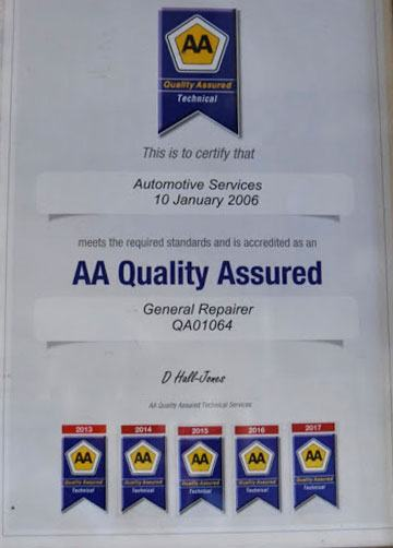 acd-automotive-services-aa-quality-assured-2006