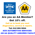 AA Roadside Assistance Members Get 10% Off on Vehicle Services