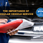 What is included in the minor vehicle service?