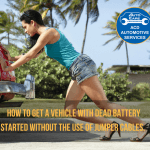 how to start a car without the use of jumper cables